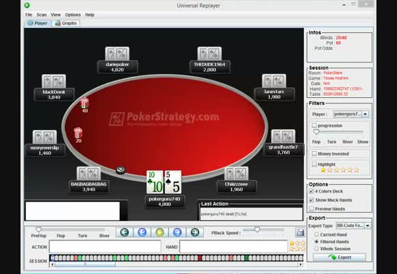 $100 Rebuy Final Table Review - Opening Stages