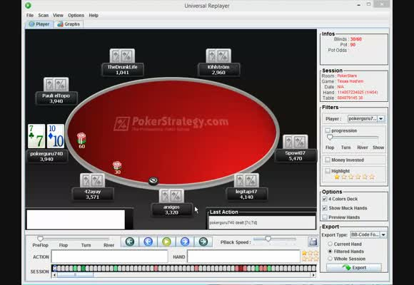 $100 Rebuy Final Table - Adapting in the Opening Stages