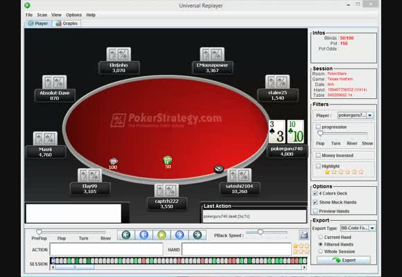 $100 Rebuy 3rd Place Review