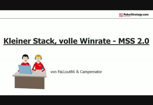 Kleiner Stack, volle Winrate - MSS 2.0 Einsteigerstrategie - Der Wechsel zur BSS
