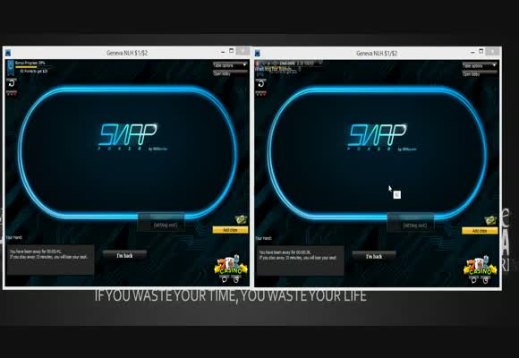 NL200 Snap Poker with TruffleBoy