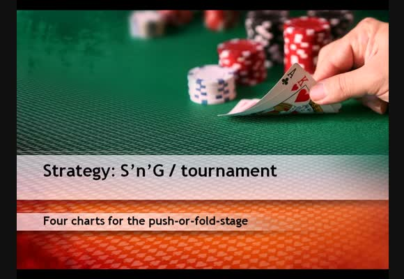 SNG - Four charts for the push of fold phase