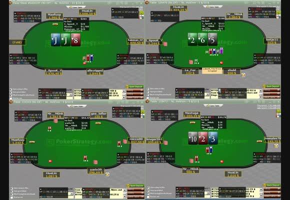 NL $1000 & $2000 преглед на сесия II