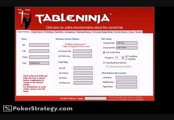 Pokersoftware - TableNinja