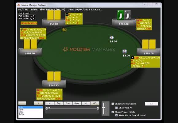 TLN Cash Game Akademie - NL200 zajímavé spoty