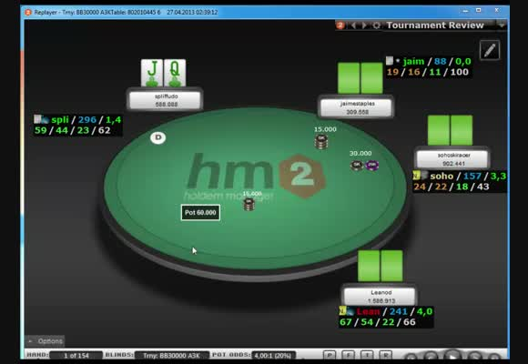 Big 109 - Final Table