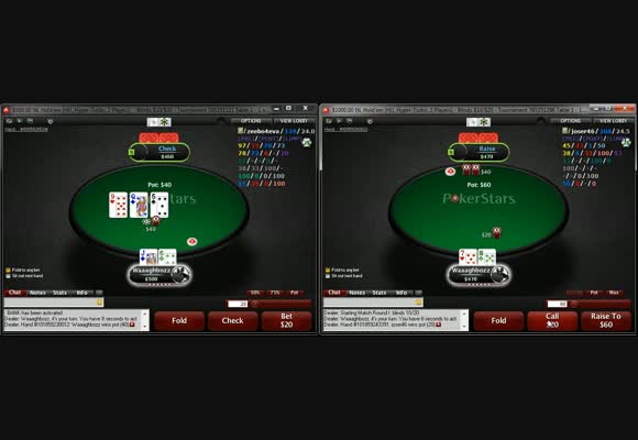 High Stakes Heads Up mit Waaaghboss