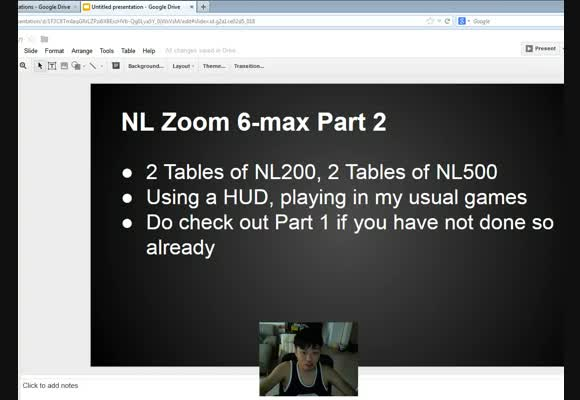 Mid-Stakes Zoom Live Session on PokerStars