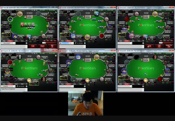 More Players More Opportunity - 400NL Full Ring Session on PokerStars