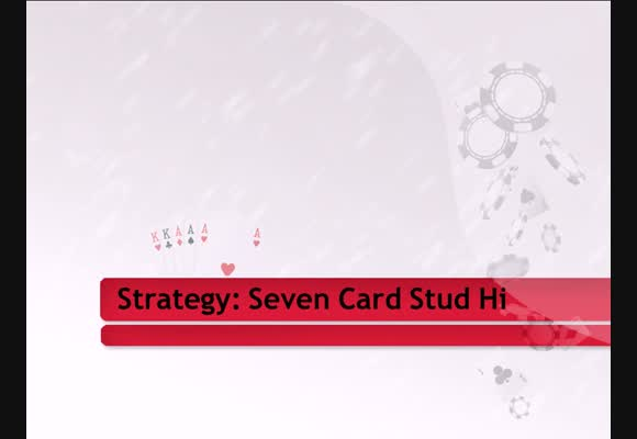 Introduction to Seven Card Stud