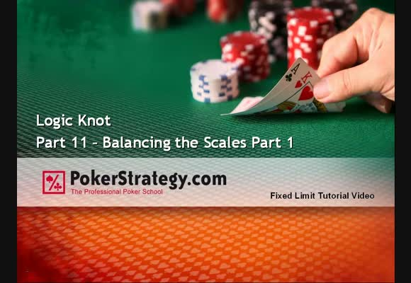 Logic Knot 11 - Balancing the Scales - Part 1