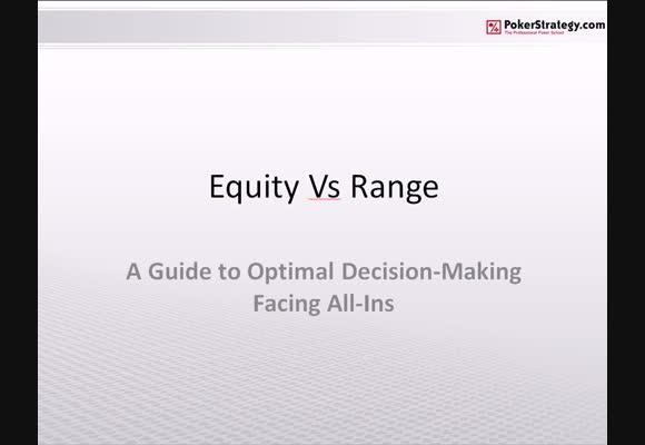 Making optimal decisions when facing an All-in