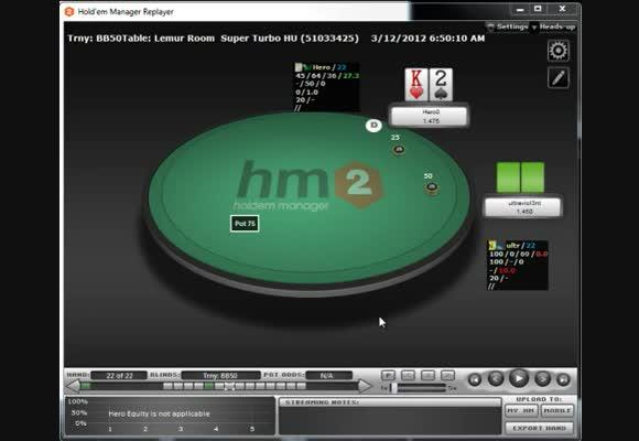 Moshman: Beating Hyper Turbo Heads Up