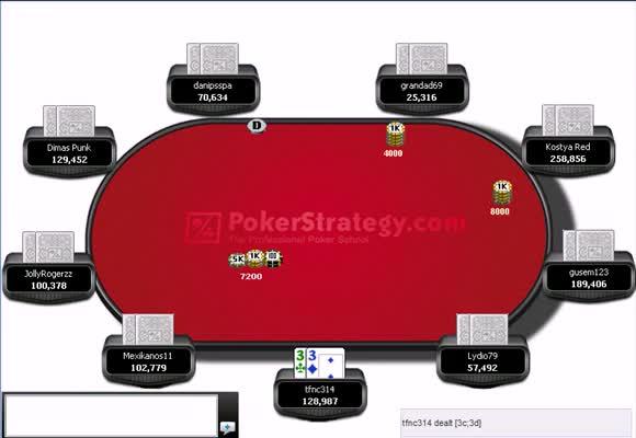 180-Man $3 Rebuy Final Table