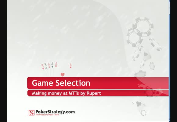 Freebie: Winning in Tournaments with Game Selection