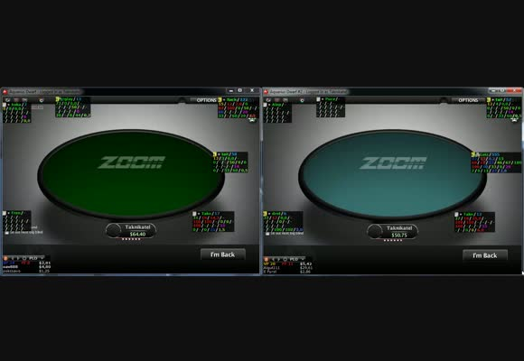 Live 50 PLO Zoom on PokerStars