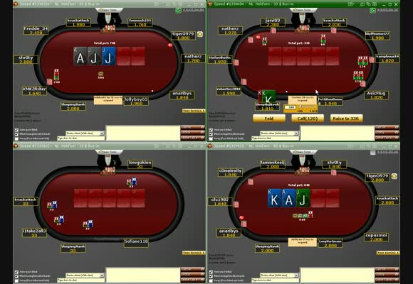 SnG $33 - $55 FR Live Video