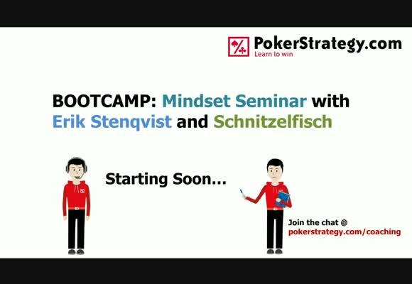 Mindset Seminar with Schnitzelfisch and Erik Stenqvist