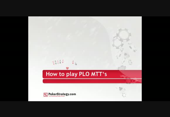 Basics of PLO MTTs - Part 4 : The Final Table