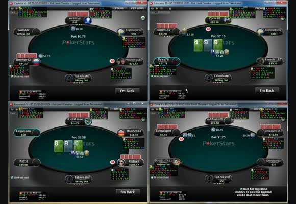 50PLO Live Regular Tables