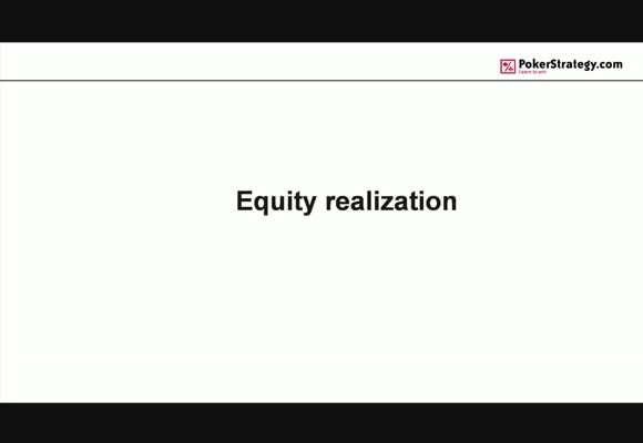 How-To Equity realisation