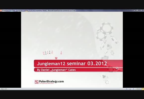 Weekly Freebie: Balancing & Ranges by Jungleman12