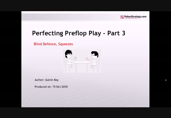 Perfecting Preflop Play - Part 3