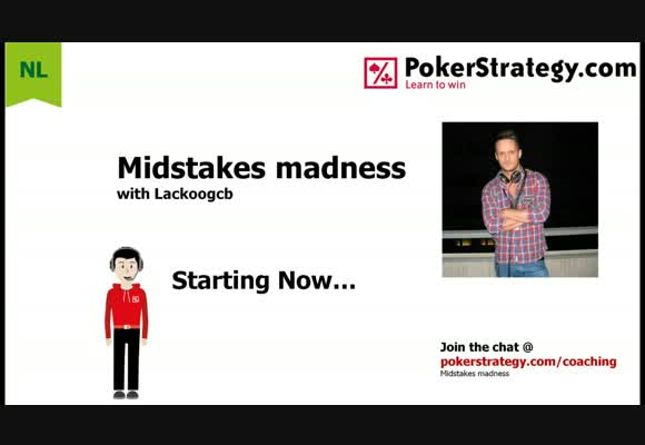 Midstakes Madness - NL200 Zoom Live Session