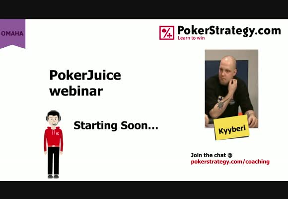 Introduction to PokerJuice - live webinar with Kyyberi and Nikolaj Borge
