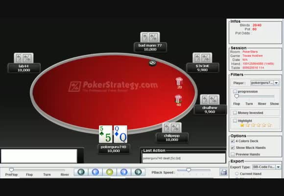 Introducing Pokerguru740: Sunday Million Review: Opening Stages