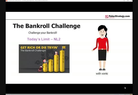 vonki goes Bankroll Challenge - NL2