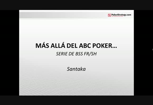 Más allá del ABC Poker - Parte 3-1