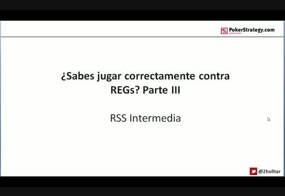 RSS SH: ¿Sabes jugar correctamente contra REGs? Parte III