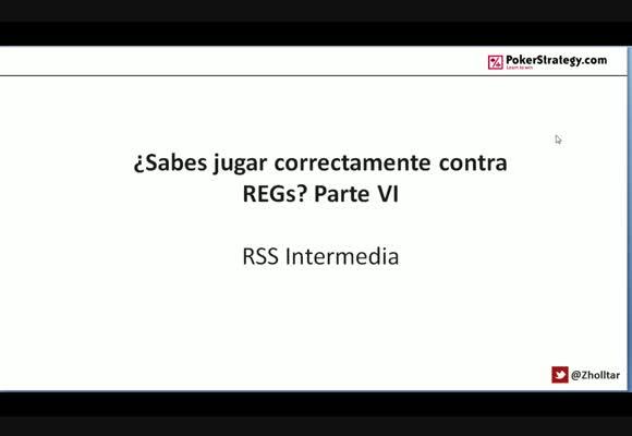 RSS SH: ¿Sabes jugar correctamente contra REGs? Parte VI