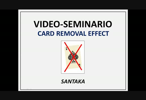Videoseminario NL BSS - Card Removal Effect