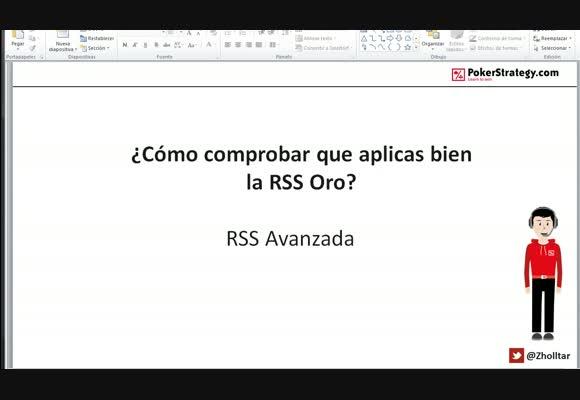 RSS SH: ¿Cómo comprobar que aplicas bien la RSS Oro?