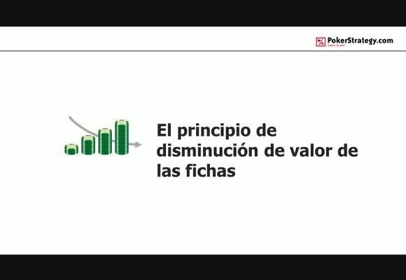 El principio de disminución de valor de las fichas