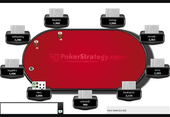 Postflop with low-mid SPR at a $109 Turbo MTT