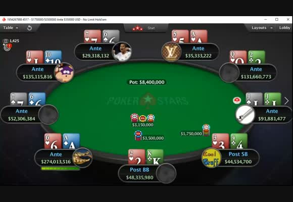 $22 MicroMillions Main Event Final Table - All Hands Revealed (1)