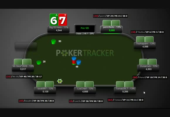 The Big $55 Final Table Run - Early & Middle Stages