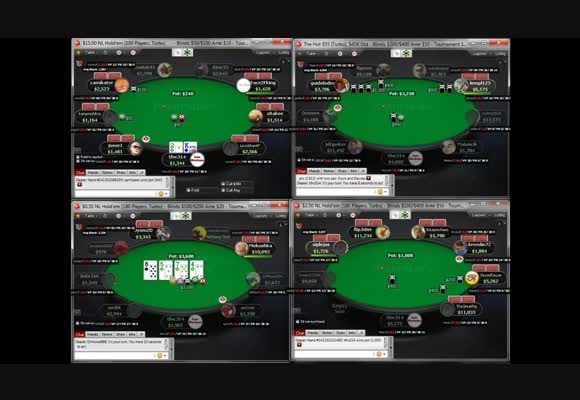 Live 180man and Turbo MTT Session!