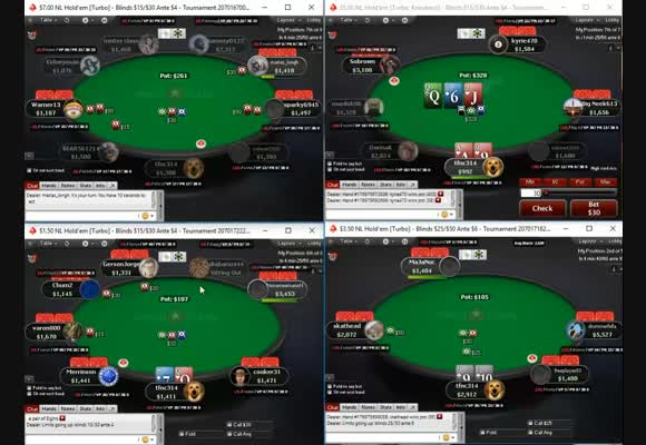 Live 9-Man SNG Session Review