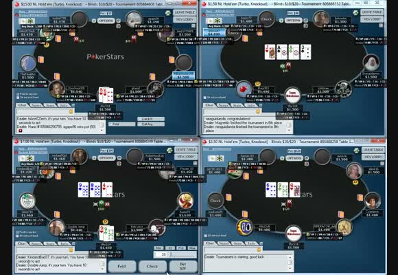 Live 12-Tabling 9-Man SNGs