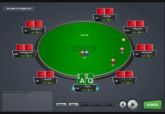 Poker Videos - NL, FL, SNG, MTT Video Strategies
