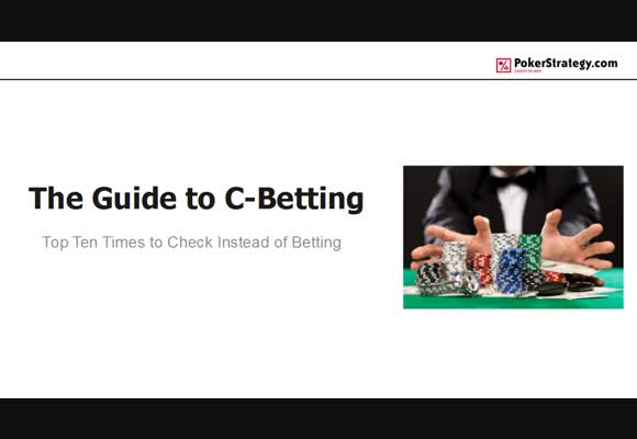 Top Ten Times to Check Instead of Betting