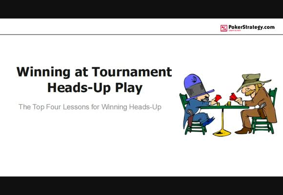 Winning At Tournament Heads-Up