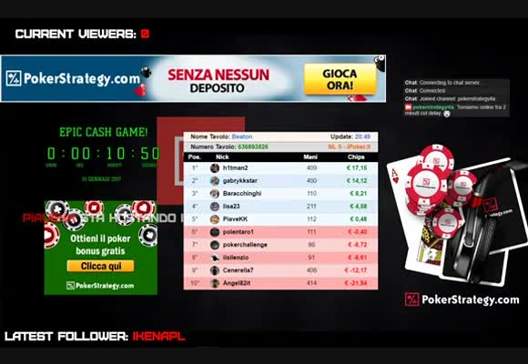 Review dell'Epic Cash Game Challenge