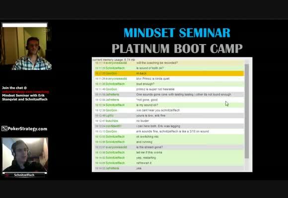 December Bootcamp: Mindset Seminar with Schnitzelfisch and Erik Stenqvist