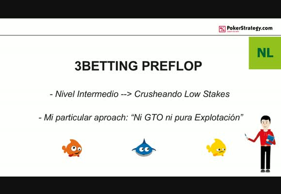 BSS SH: 3 Betting Preflop