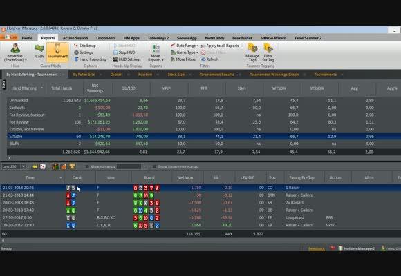 MTT: Análisis de situaciones con Holdem Manager + Equilab